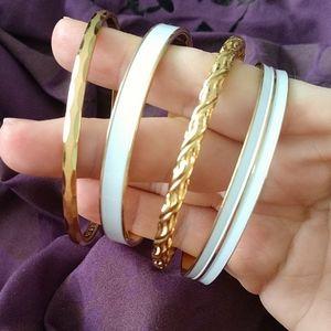 Vintage Monet bangle bracelets lot of 4